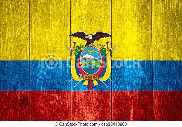 flag of Ecuador - csp38418960