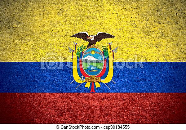 flag of Ecuador - csp30184555