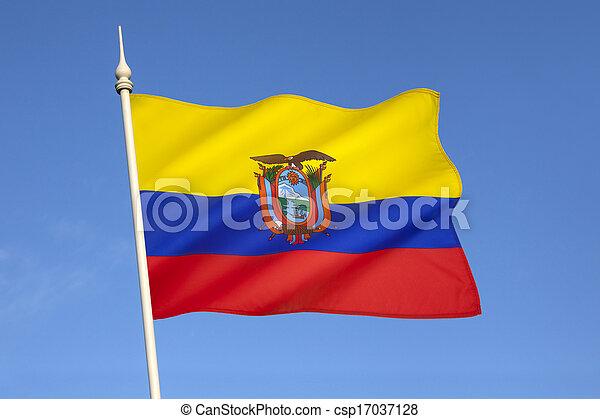 Flag of Ecuador - csp17037128