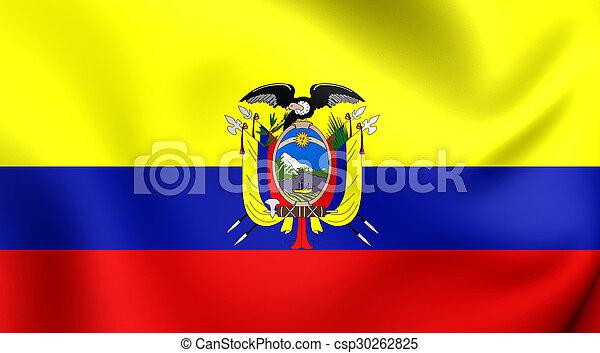 Flag of Ecuador - csp30262825