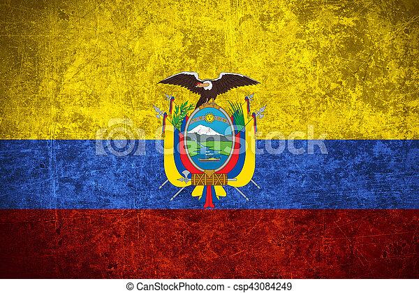 flag of Ecuador - csp43084249