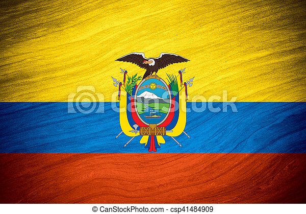 flag of Ecuador - csp41484909