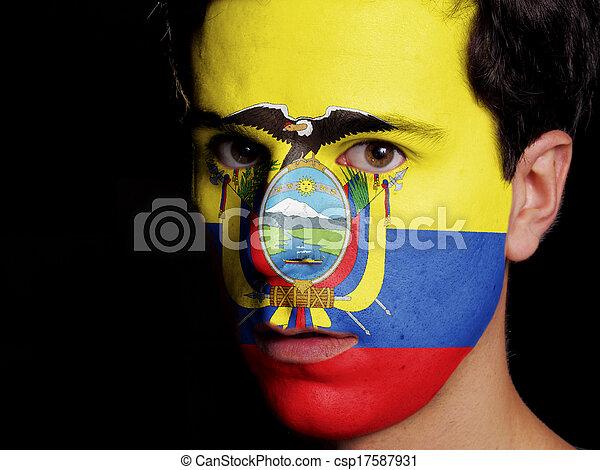 Flag of Ecuador - csp17587931