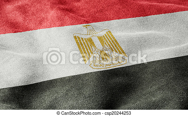 Flag of Egypt - csp20244253