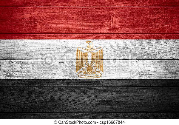 flag of Egypt - csp16687844