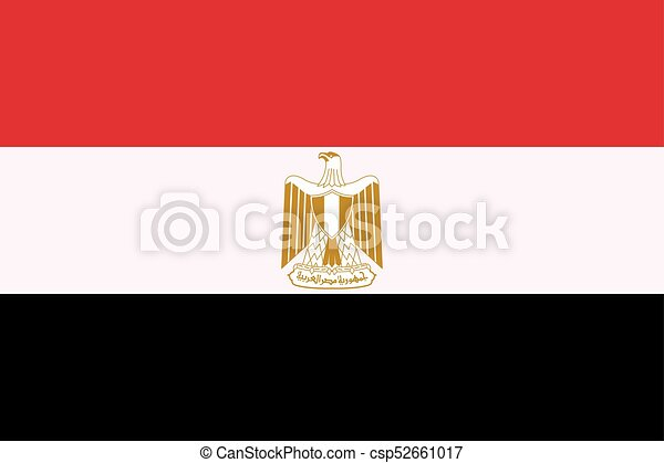 Flag of Egypt - csp52661017