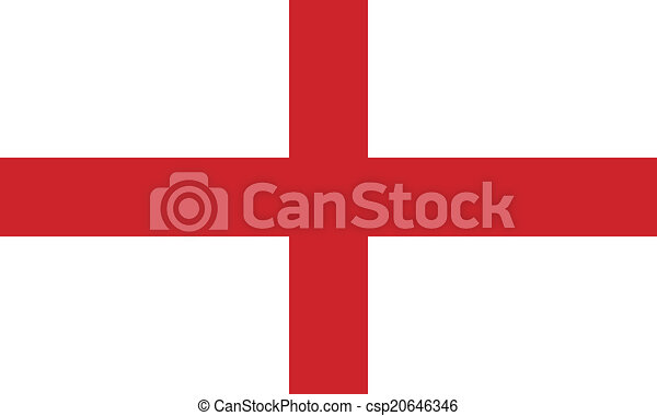 Flag of England - csp20646346