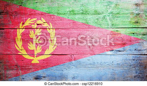 Flag of Eritrea - csp12216910