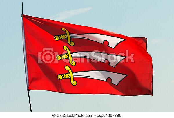 Flag of Essex - csp64087796