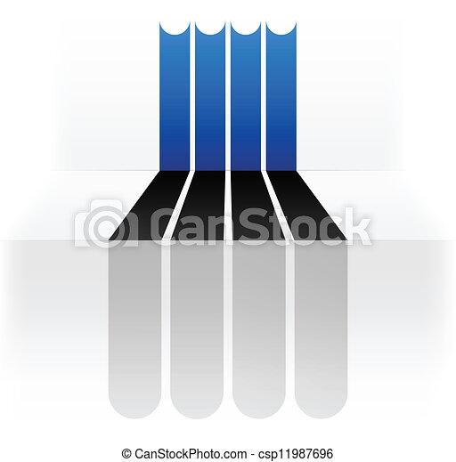 Flag of Estonia - csp11987696