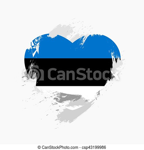 Flag of Estonia - csp43199986