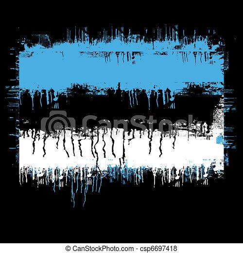 flag of estonia - csp6697418
