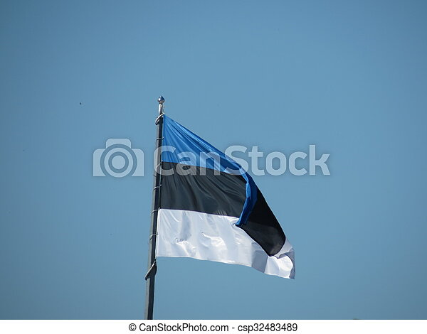 flag of Estonia - csp32483489