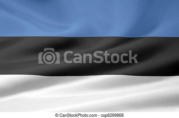 Flag of Estonia - csp6299868