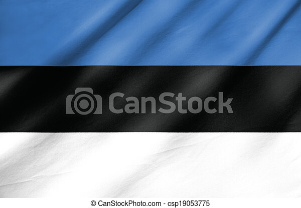 Flag of Estonia - csp19053775
