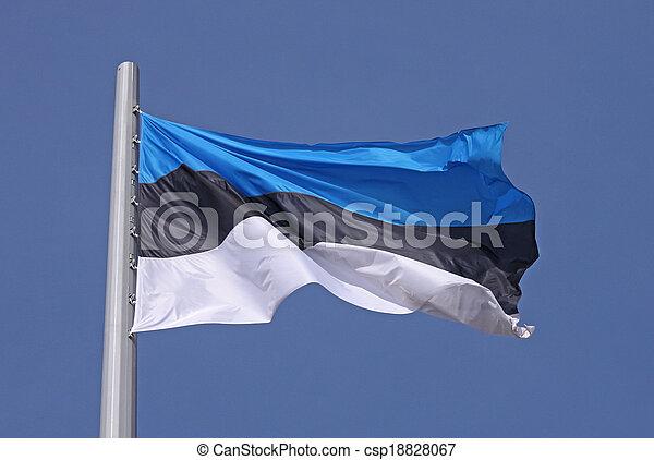 flag of Estonia - csp18828067