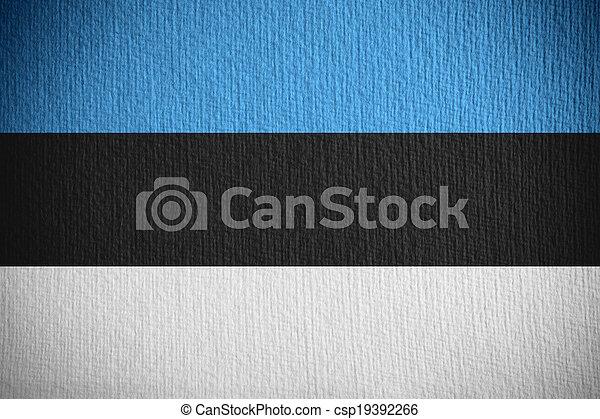 flag of Estonia - csp19392266