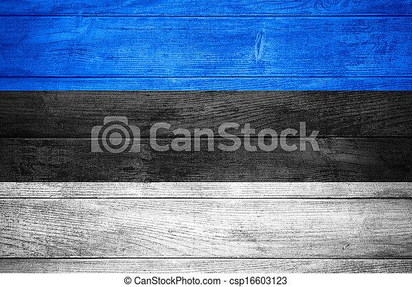 flag of Estonia - csp16603123