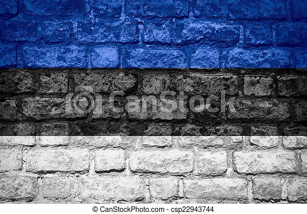 flag of Estonia - csp22943744