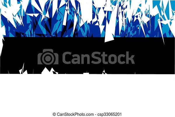 Flag of Estonia. - csp33065201