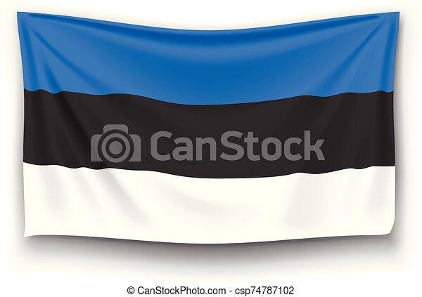 flag of estonia - csp74787102