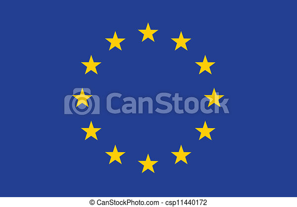 Flag of European Union - csp11440172