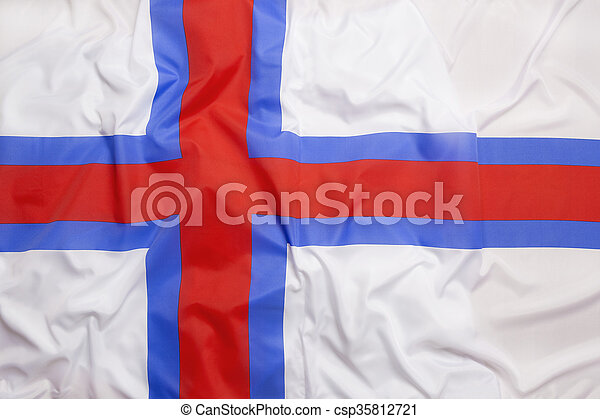 Flag of Faroe Islands - csp35812721