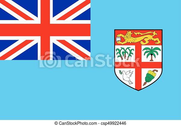 Flag of Fiji - csp49922446