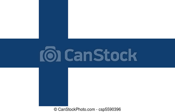 Flag of Finland - csp5590396