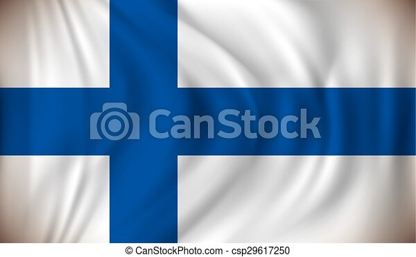 Flag of Finland - csp29617250