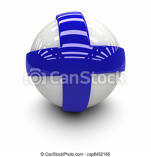 Flag of Finland - csp8452166