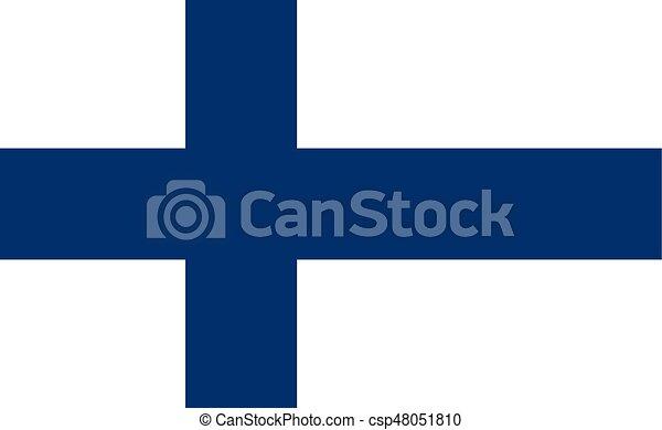 Flag of Finland - csp48051810
