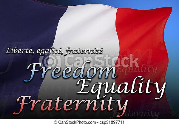 Flag of France - csp31897711