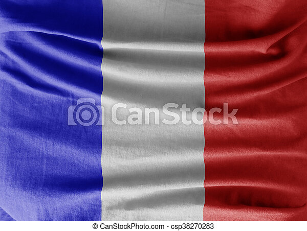 Flag of france - csp38270283