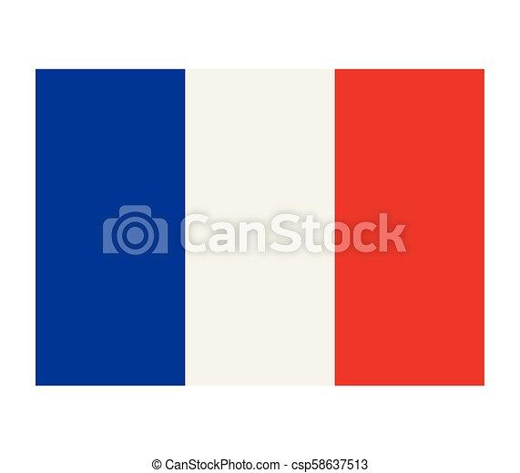 flag of france - csp58637513