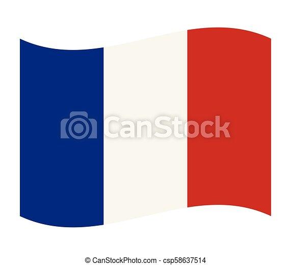 flag of france - csp58637514