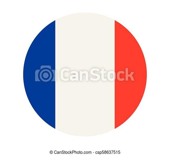 flag of france - csp58637515