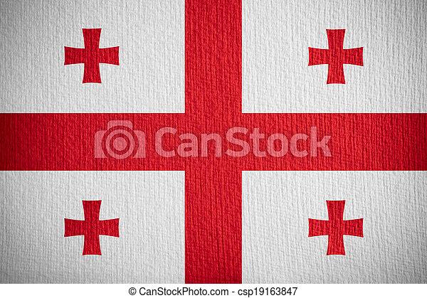 flag of Georgia - csp19163847