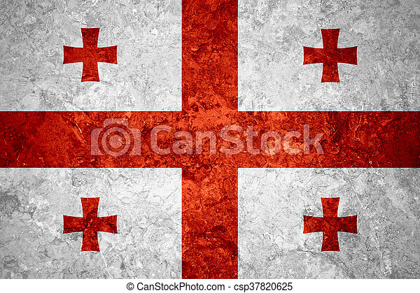 flag of Georgia - csp37820625