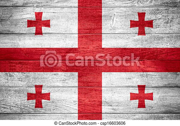 flag of Georgia - csp16603606