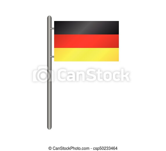 flag of Germany - csp50233464