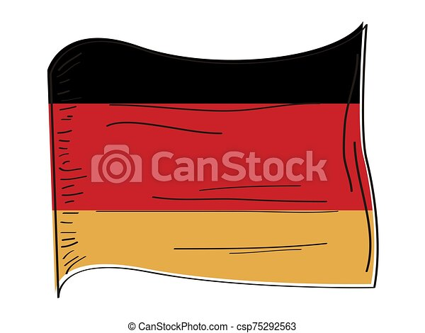 Flag of Germany - csp75292563
