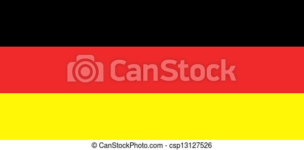 Flag of Germany - csp13127526