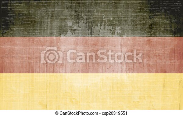 Flag Of Germany - csp20319551