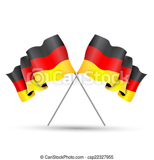 Flag of germany - csp22327955