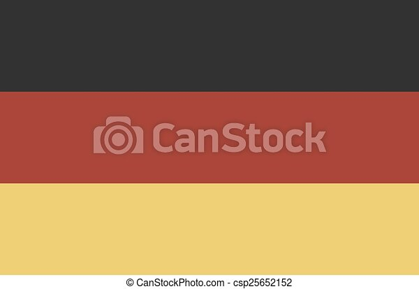 Flag Of Germany - csp25652152
