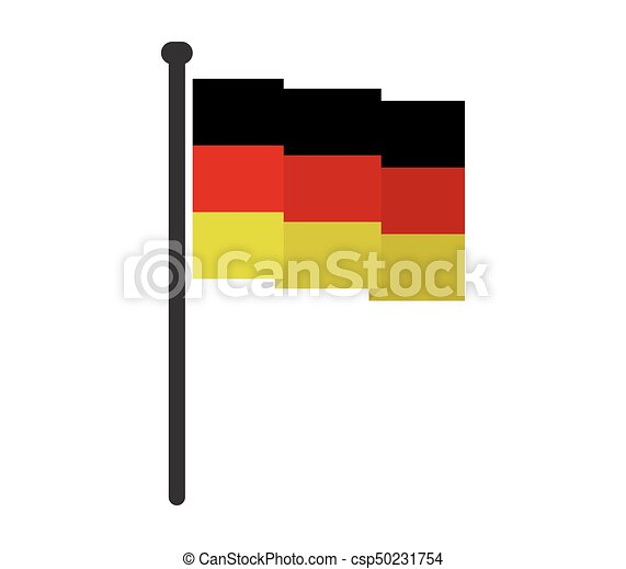 flag of Germany - csp50231754