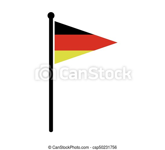 flag of Germany - csp50231756