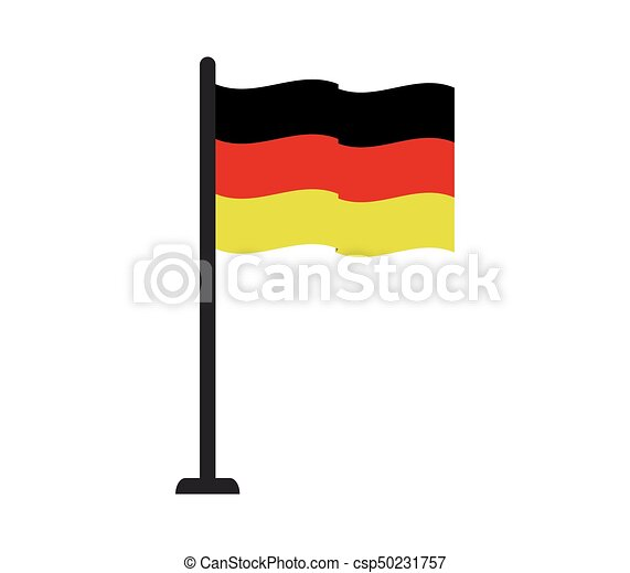 flag of Germany - csp50231757
