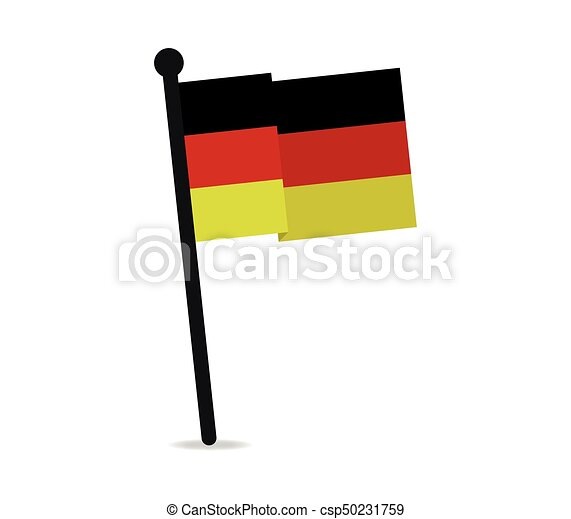 flag of Germany - csp50231759